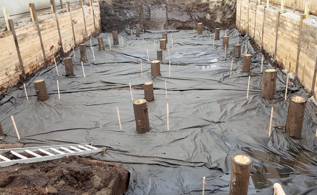 Timber Piles for Foundation Work